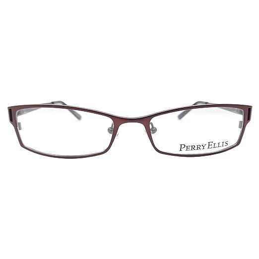 Amazon.com: Perry Ellis Men\'s PE233 Eyeglasses Prescription Frames ...