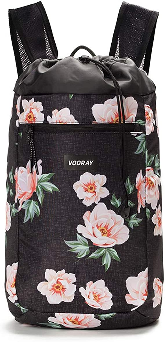 Vooray Stride Cinch Backpack, Drawstring Backpack, Gym Bag for Men and Women