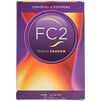 Preservativo femenino Femidom en un paquete de 3