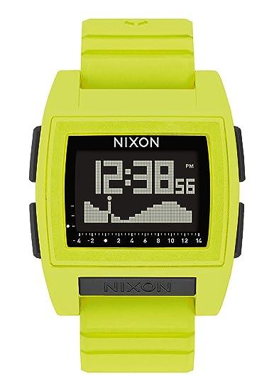 Nixon Reloj Hombre de Digital con Correa en Silicona A1212-536-00: Amazon.es: Relojes