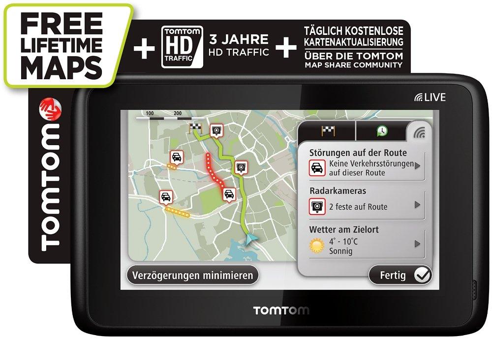 TomTom GO LIVE 1015 Hdt&m Europe Satellite Navigation System