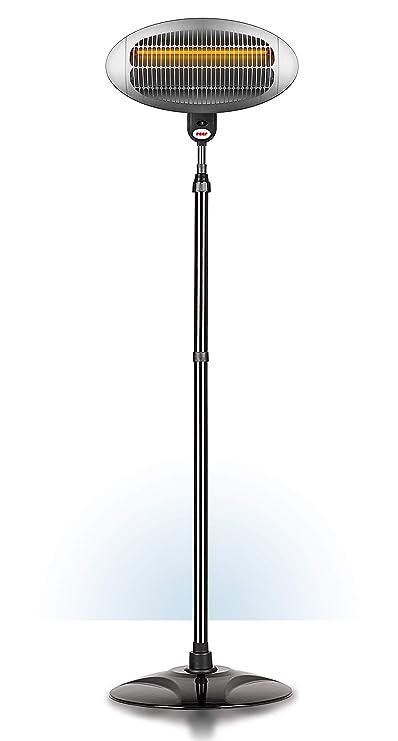 Reer 1909 - Estufa eléctrica para cambiador de pañales, con pie y luz adormecedora: Amazon.es: Bebé