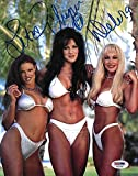 Chyna Lita Debra McMichael Signed 8x10 Photo WWE Diva Picture Autograph - PSA/DNA Certified - Autographed Wrestling Photos