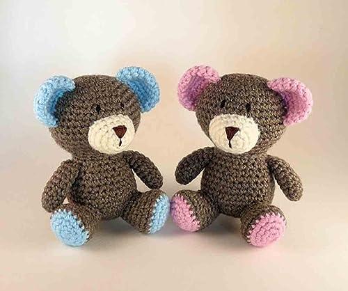 How To Crochet A Miniature Bear Video Tutorial | 418x500