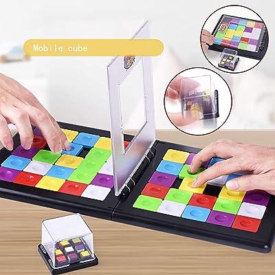 NINI Rompecabezas Juguetes para niños Rompecabezas Color Móvil Cubo de Rubik Creativo Interacción Padre-Hijo Diversión Juguetes educativos de Escritorio: Deportes y aire libre