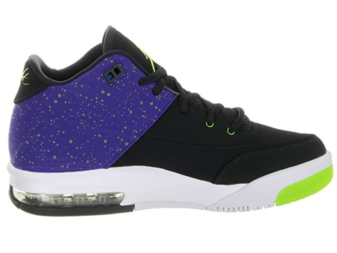 Amazon.com: Jordan Nike Kids Flight Origin 3 Bg Black/Electric Green Concord Basketball Shoe 6.5 Kids US: Shoes