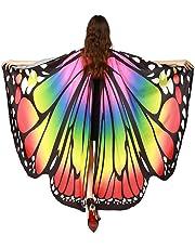 Alas De Mariposa Chal Mariposa Mujer Accesorio Traje Nymph Pixie Cosplay Partido