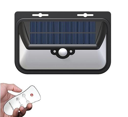Impermeable InaláMbrico 68 Led De Gran Angular Luces Solares De Seguridad Luces EnergíA Solar Sensor De