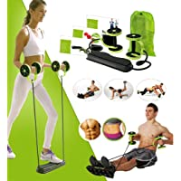VPN Fitness and Service Foldable Revoflex Xtreme Rally Multifunction Pull Rope Wheeled Health Abdominal Muscle Training Home Fitness Equipment