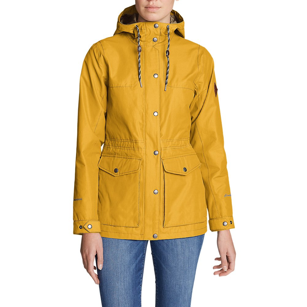 Eddie Bauer Women's Charly Jacket, Dk Marigold Regular M by Eddie Bauer