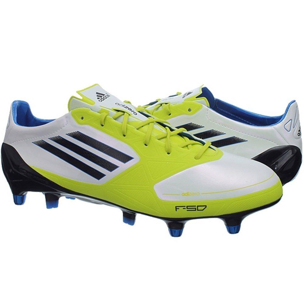 Adidas F50 adizero XTRX SG Syn Syn Syn V21452 Fußballschuhe Stollen Herren Weiß Gelb 1033e1