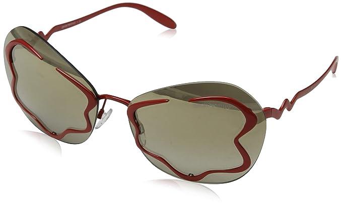 Emporio Armani 0EA2060 Gafas de sol, Red, 65 para Mujer ...