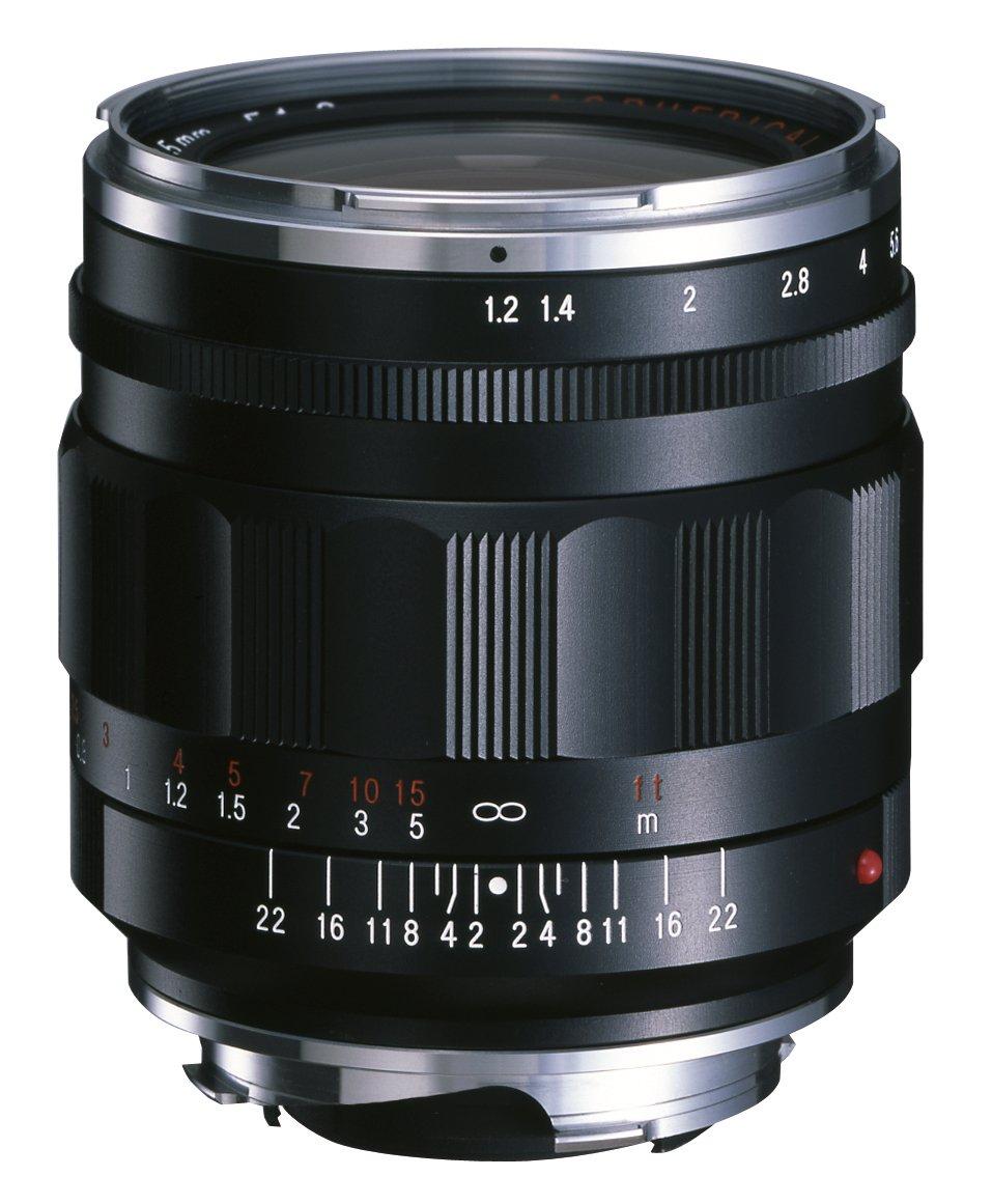 VoightLander 単焦点広角レンズ NOKTON 35mm F1.2 Aspherical VM II ブラック VMマウント   B0057Z99TQ