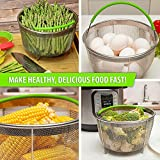 Steamer Basket for Instant Pot Accessories 6 Qt