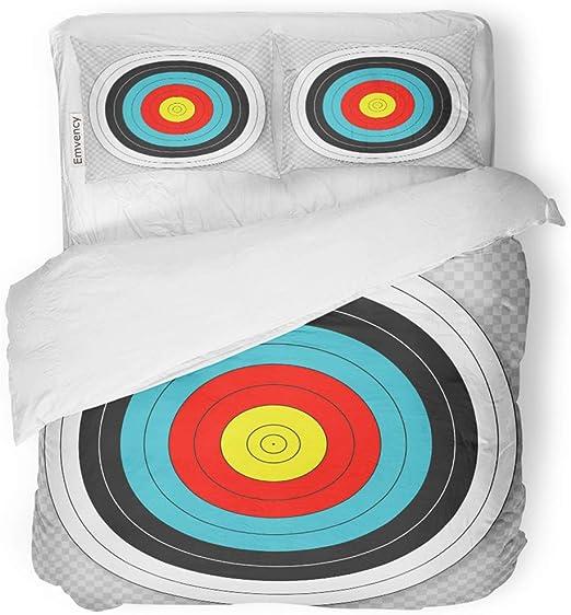 Amazon.com: SanChic Duvet Cover Set Blue Hunting Target for
