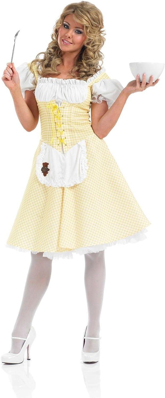 Forever Young - Disfraz de Ricitos de Oro (vestido largo ...