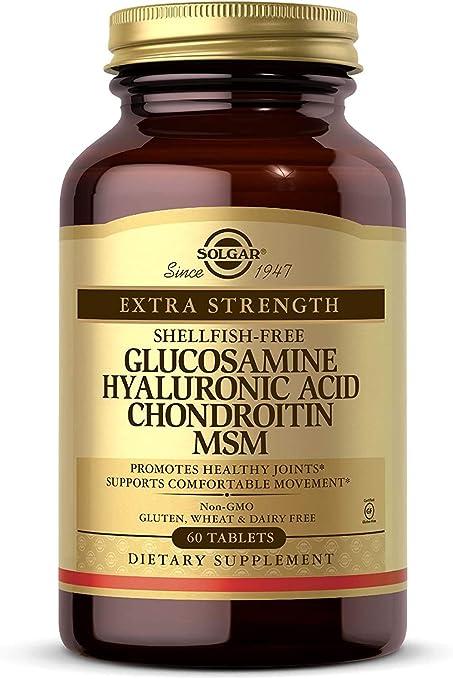 Doctor's Best, Glucosamină Condroitină MSM + Acid Hialuronic, Capsule + TRANSPORT GRATUIT