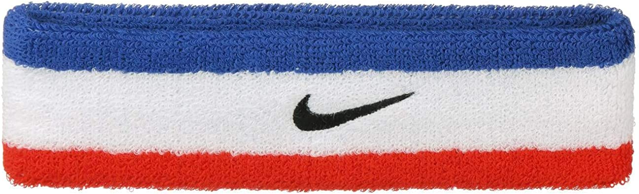 Nike Swoosh Headband Habanero RED/Black OSFM