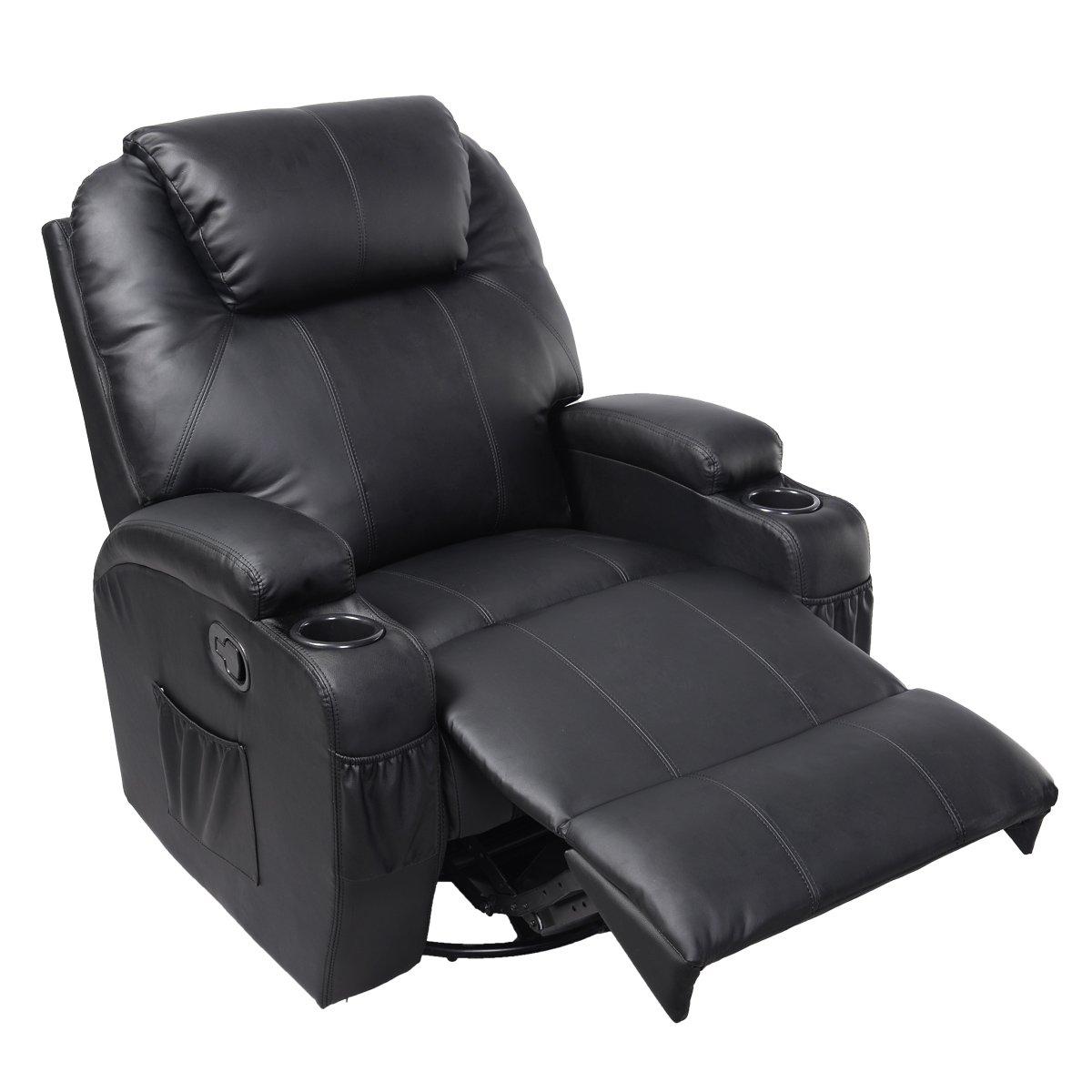 Amazon.com: Giantex Ergonomic Deluxe Massage Recliner Sofa ...