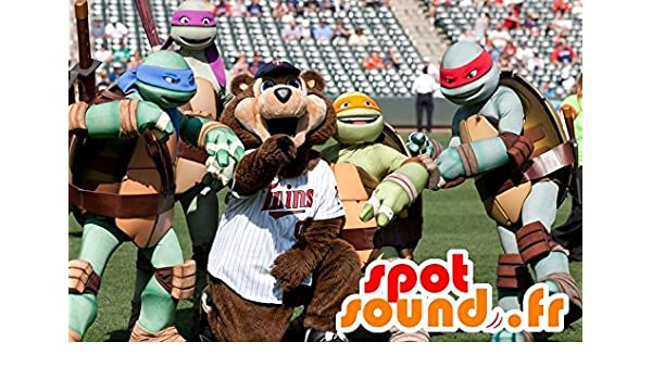 Las mascota SpotSounds de las Tortugas Ninja, tortugas ...