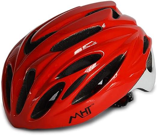 Casco Bicicleta,Casco Bicicleta Montaña Adulto Ajustable con Forro ...
