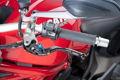 Freno de palanca de embrague Puig zB Ducati 959 PANIGALE 2016 de pliegues y ajustable negro