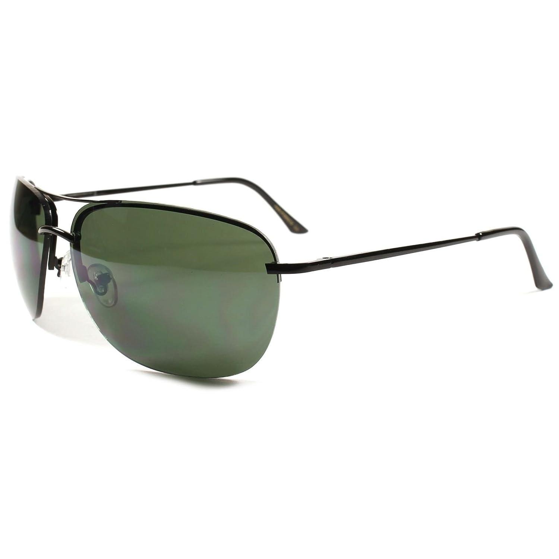 2ea76f73d3 Amazon.com  Aviator Classic Vintage Retro 80 s Mens Womens Lens Sunglasses   Clothing