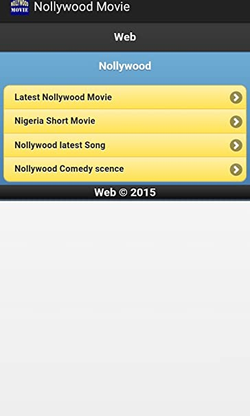 Amazon com: Nigerian Nollywood Movies: Appstore for Android