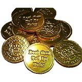 500pcs - Belgian Milk Chocolate Pirate Coins
