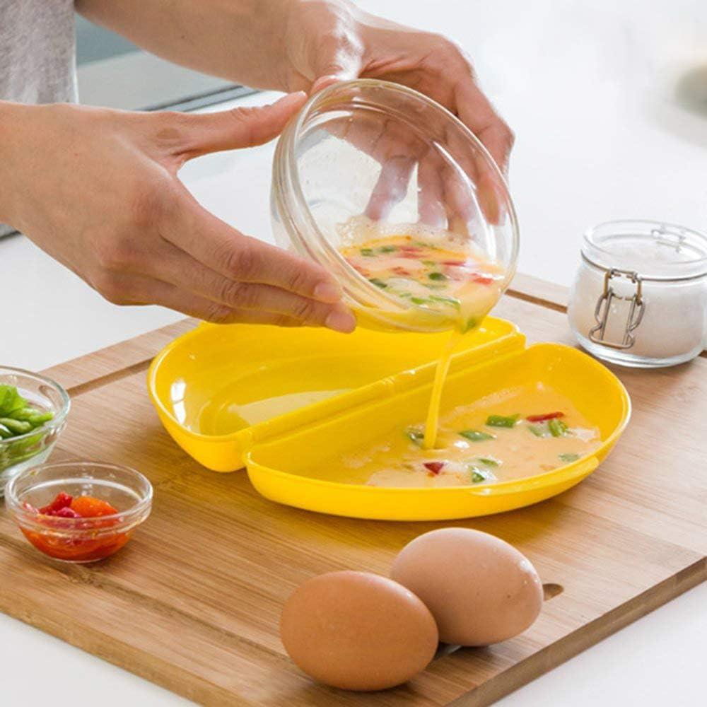 Cocinar Huevos Microondas Poche Tortilla Francesa Sana Rápida Rica ...