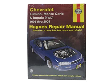 amazon com haynes publications inc 24048 repair manual automotive rh amazon com 2000 Chevrolet Impala 2005 Chevrolet Impala