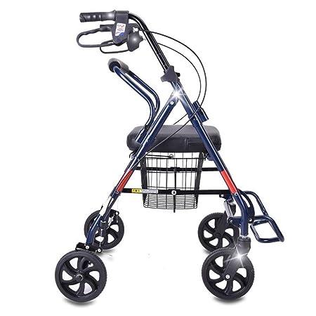 EGCLJ Andador De Ancianos Walker con Frenos De Aluminio ...