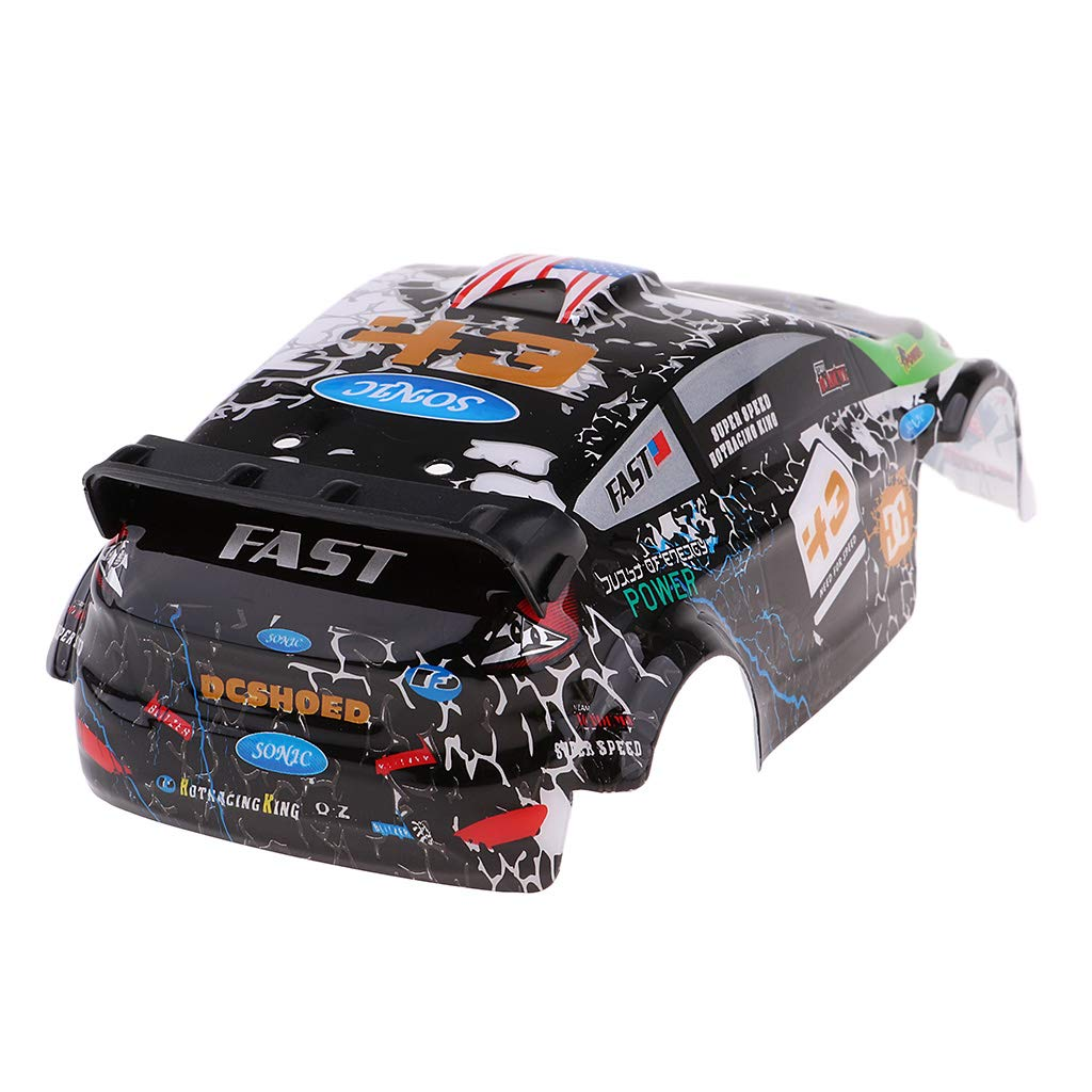 Homyl Pre-Painted Bodywork Body Part for WLtoys K989 1:28 Remote Control Rally Car