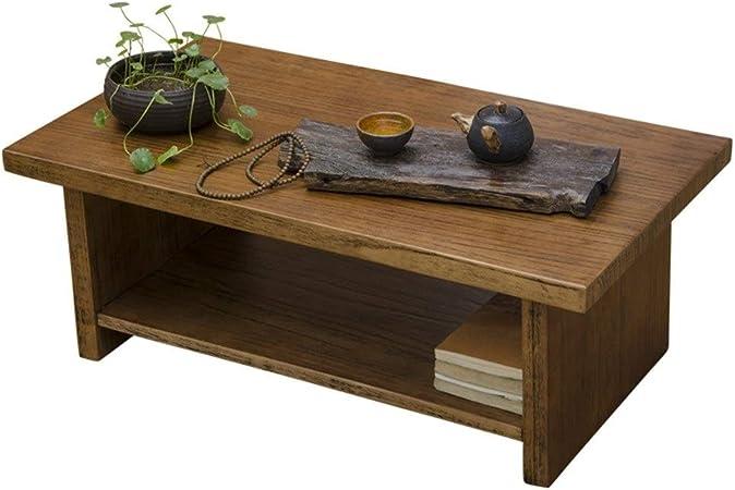 Muebles y Accesorios de jardín Mesas Madera Maciza Mesa de café pequeño apartamento pequeño Estudio de