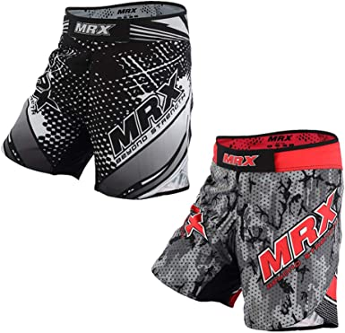 PHENOM Fightwear MS1 MMA Shorts Grappling UFC Kick Boxing Mens Cage Trunks M1