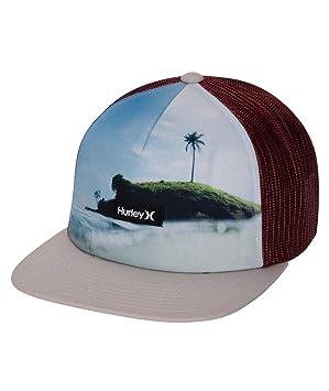 Hurley M Mixtape Hat Gorras/Sombreros, Hombre, Team Crimson, 1SIZE: Amazon.es: Deportes y aire libre