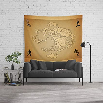 Amazon.com: Force-over Wall Tapestry, Size Large: 60\