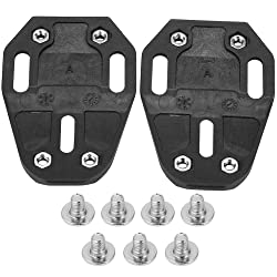 Tbest 1 Pair Quick Release Bike Cycling Shoe Cleat Covers Bike Cleats Compatible Adapter Converter for Speedplay Zero