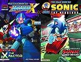 Sonic Comic Origins and Mega Man X 2014 FCBD