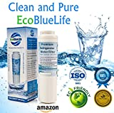 EcoBlueLife Water Filter, Compatible with Maytag UKF8001, Whirlpool, Amana Pur, KitchenAid, Bosch and Viking models, 1 pack