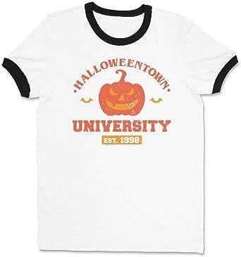 Amazon.com: Halloweentown University Ringer Tee Shirt ...