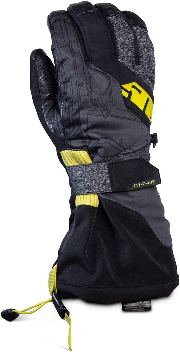 509 Backcountry Gloves Blue Hi-Vis - Large