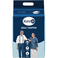 Kare In Adult Diapers - 10 Count (Medium)