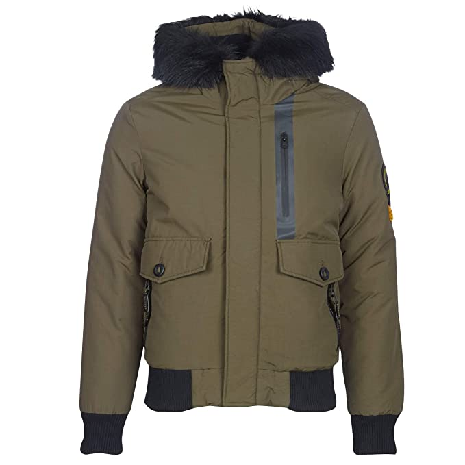 Superdry Everest Bomber, Chaqueta para Hombre: Amazon.es ...