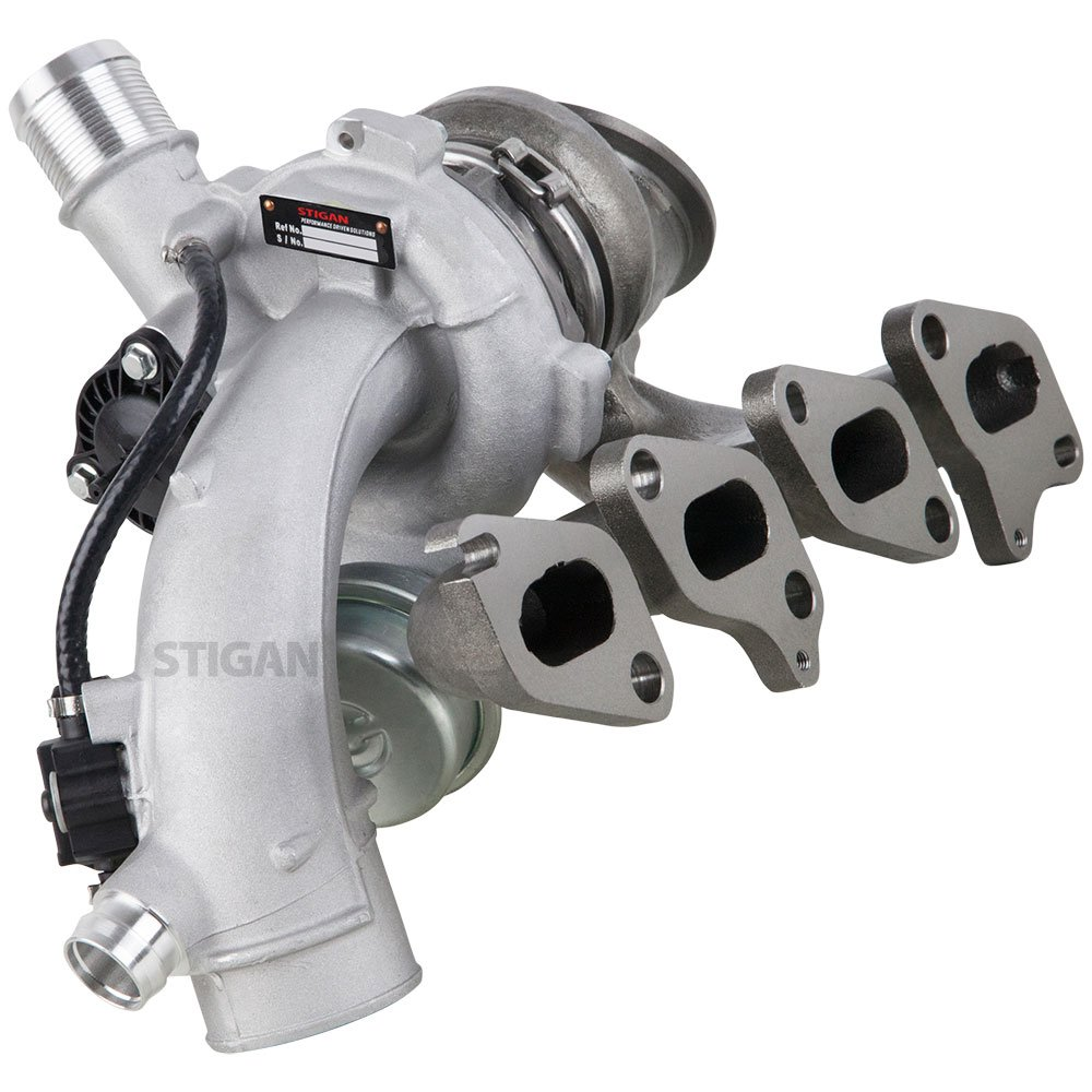 BuyAutoParts 40-80745S4 New Stigan Turbo Kit With Turbocharger Gaskets /& Oil Line For Chevy Cruze Sonic /& Buick Encore 1.4T