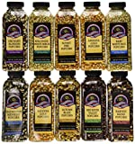 gourmet popping corn case of 15 oz bottles a variety pack of 10 bottles