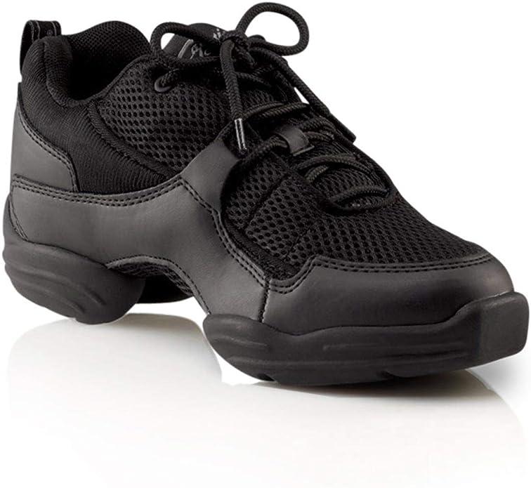 Capezio Women's DS11 Fierce Dance Sneaker,Black,7 M US