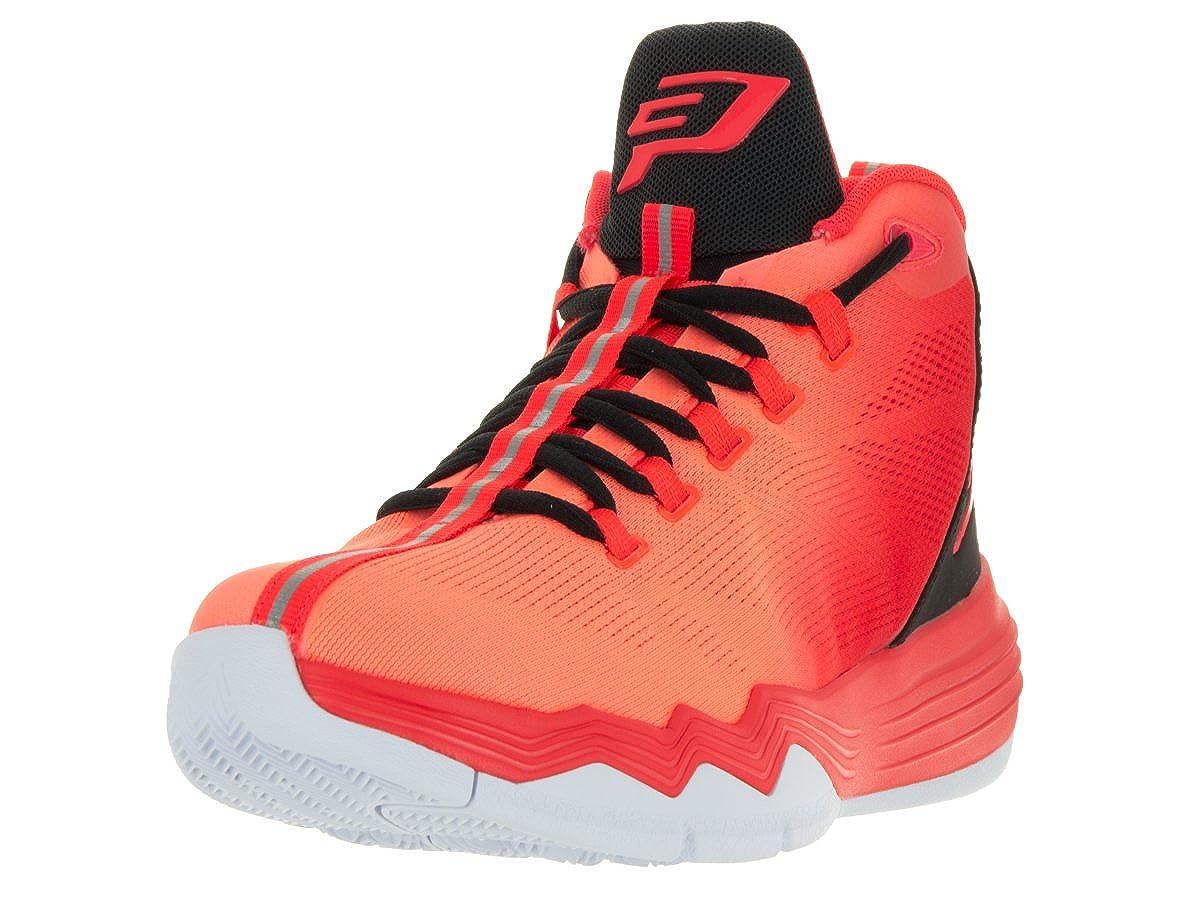 [ジョーダン] ナイキメンズcp3。IX AEバスケットボールシューズ B0085YV46M Infrared 23/Black/Bright Mango/Infrared 23 10.5 D(M) US Men