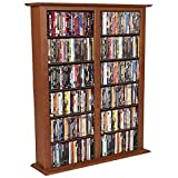 Venture Horizon Media Storage Tower-Regular Double- Cherry