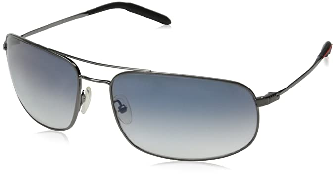 1a37ee9f0c909 Mosley Tribes Bronson Sunglasses Silver with Blue Gradient ...